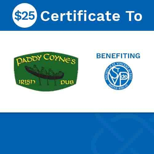 Paddy Coyne's Gift Card