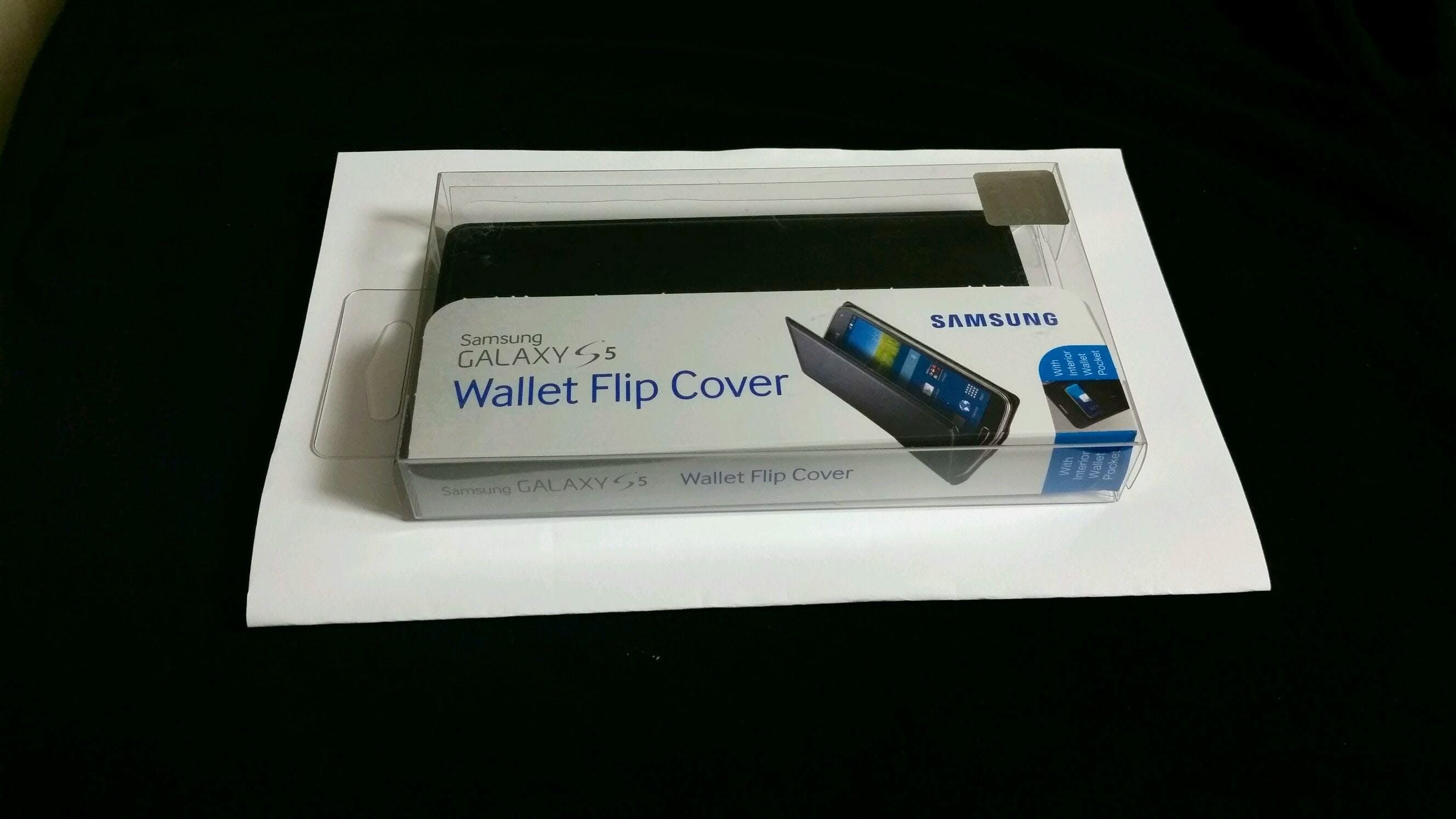 Galaxy S5 Wallet Flip Cover