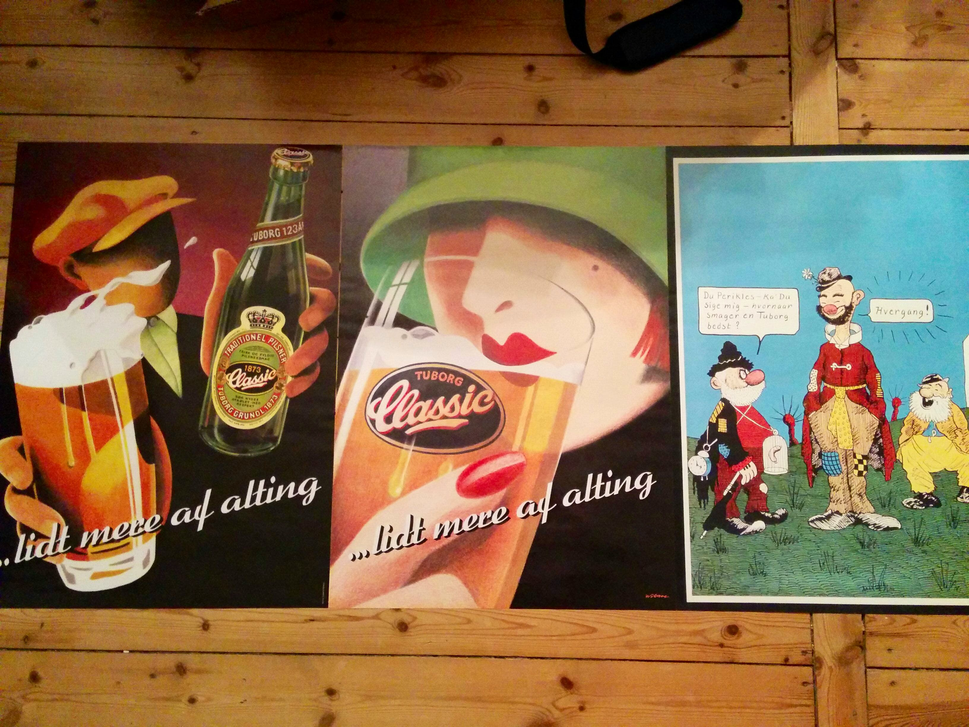 Tuborg posters