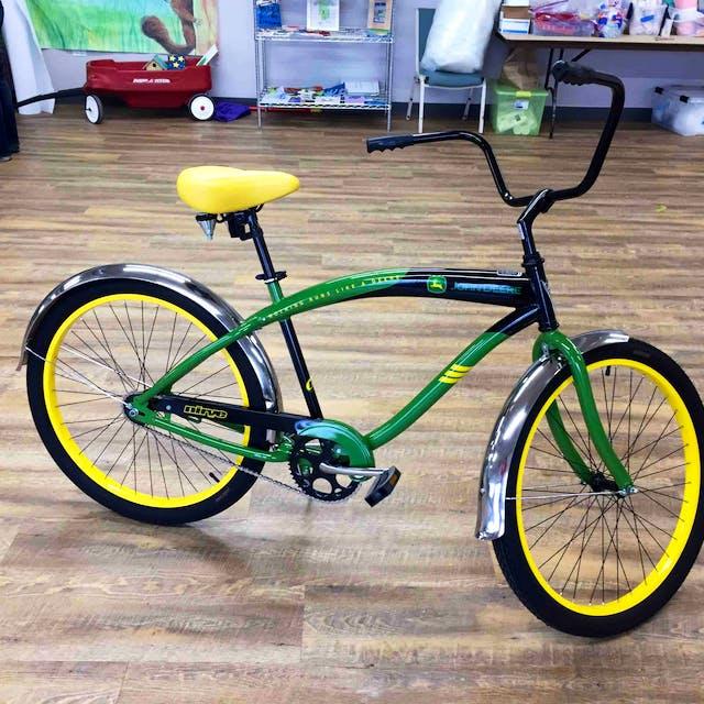 New John Deere Bike