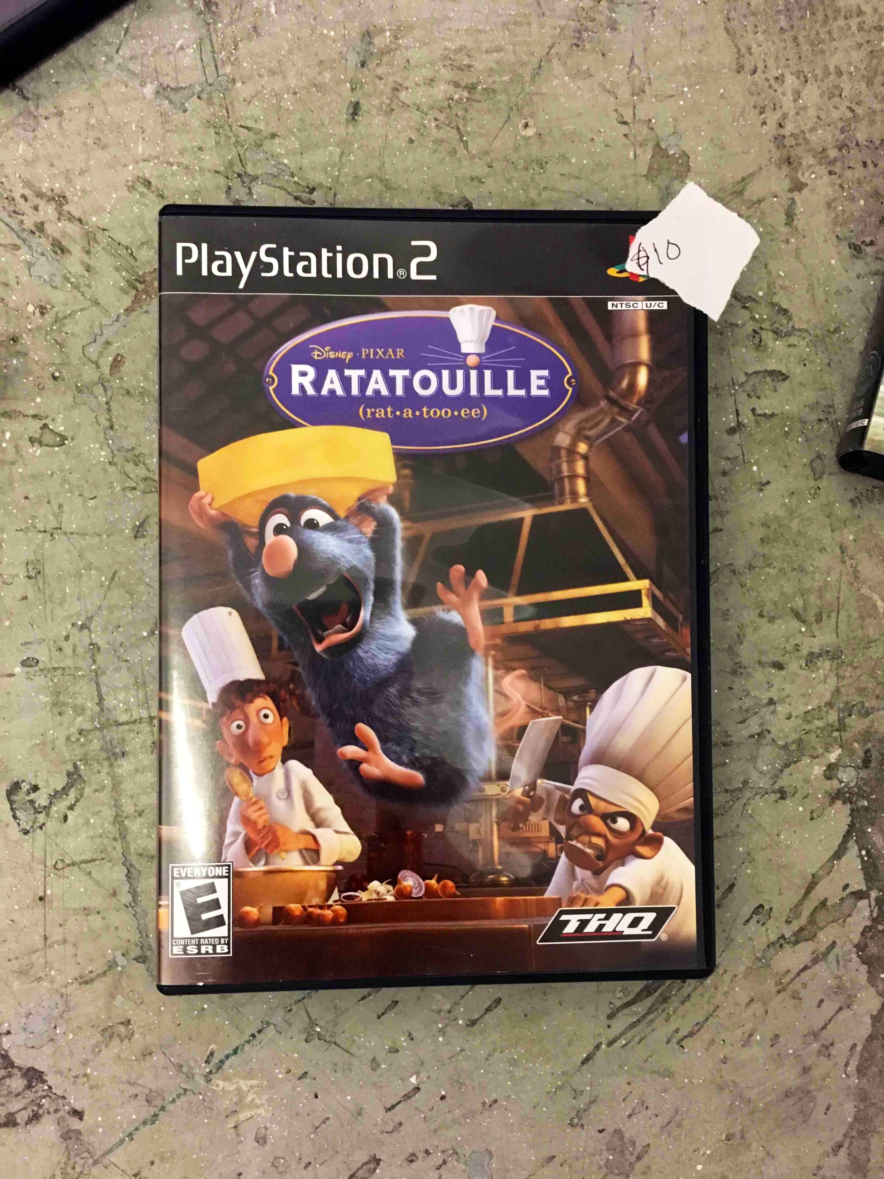 Ratatouille PS2 game