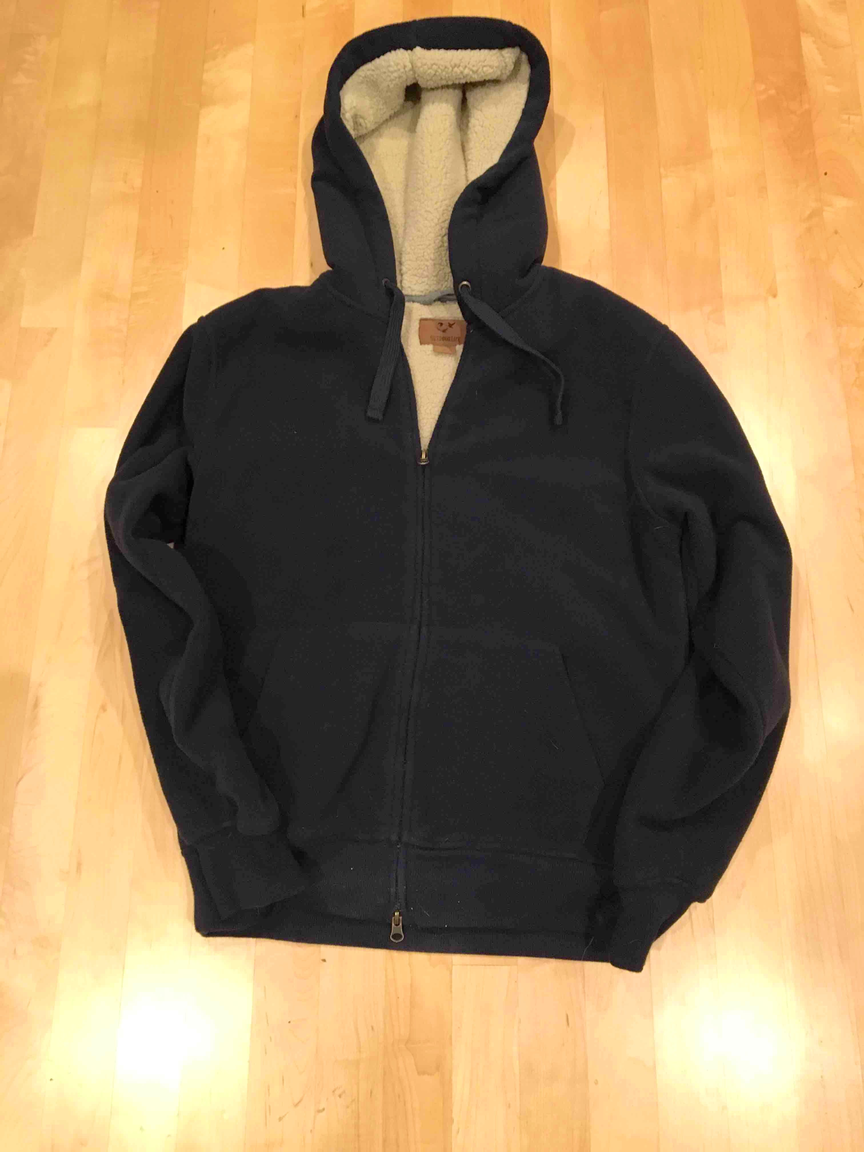 Men's S sherpa fleece jacket