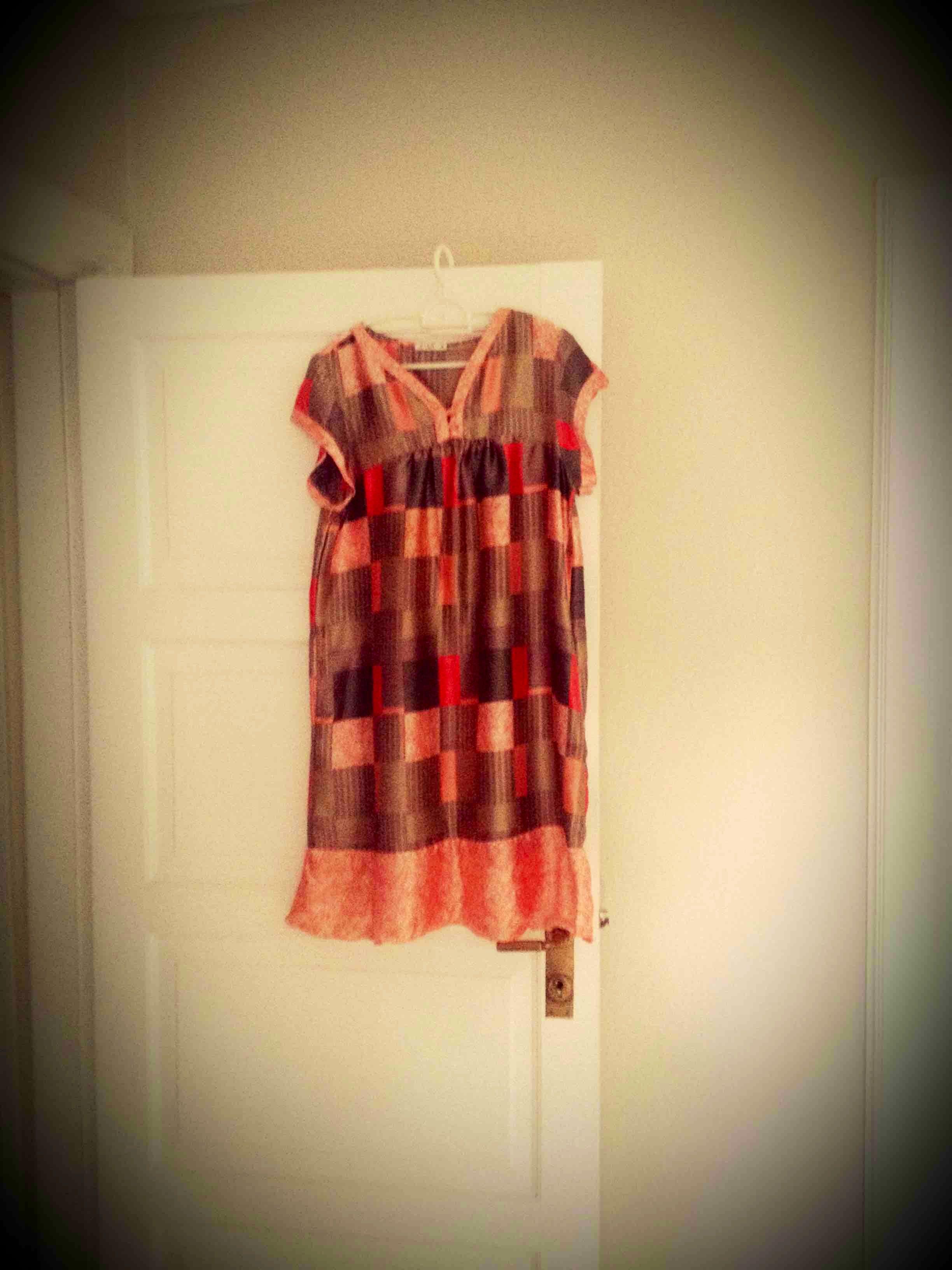 Kort kjole/overdel str S