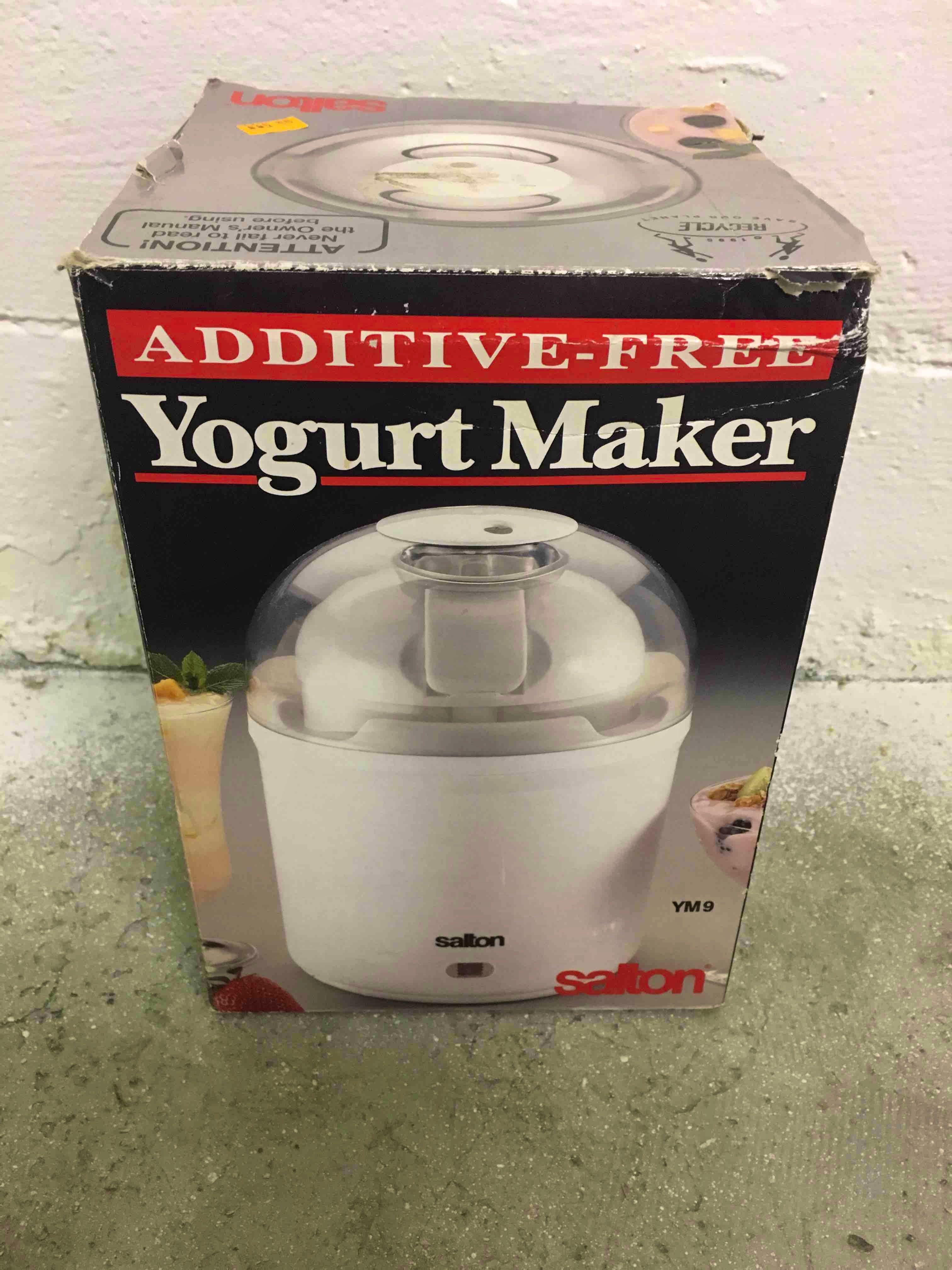 Salton yogurt maker