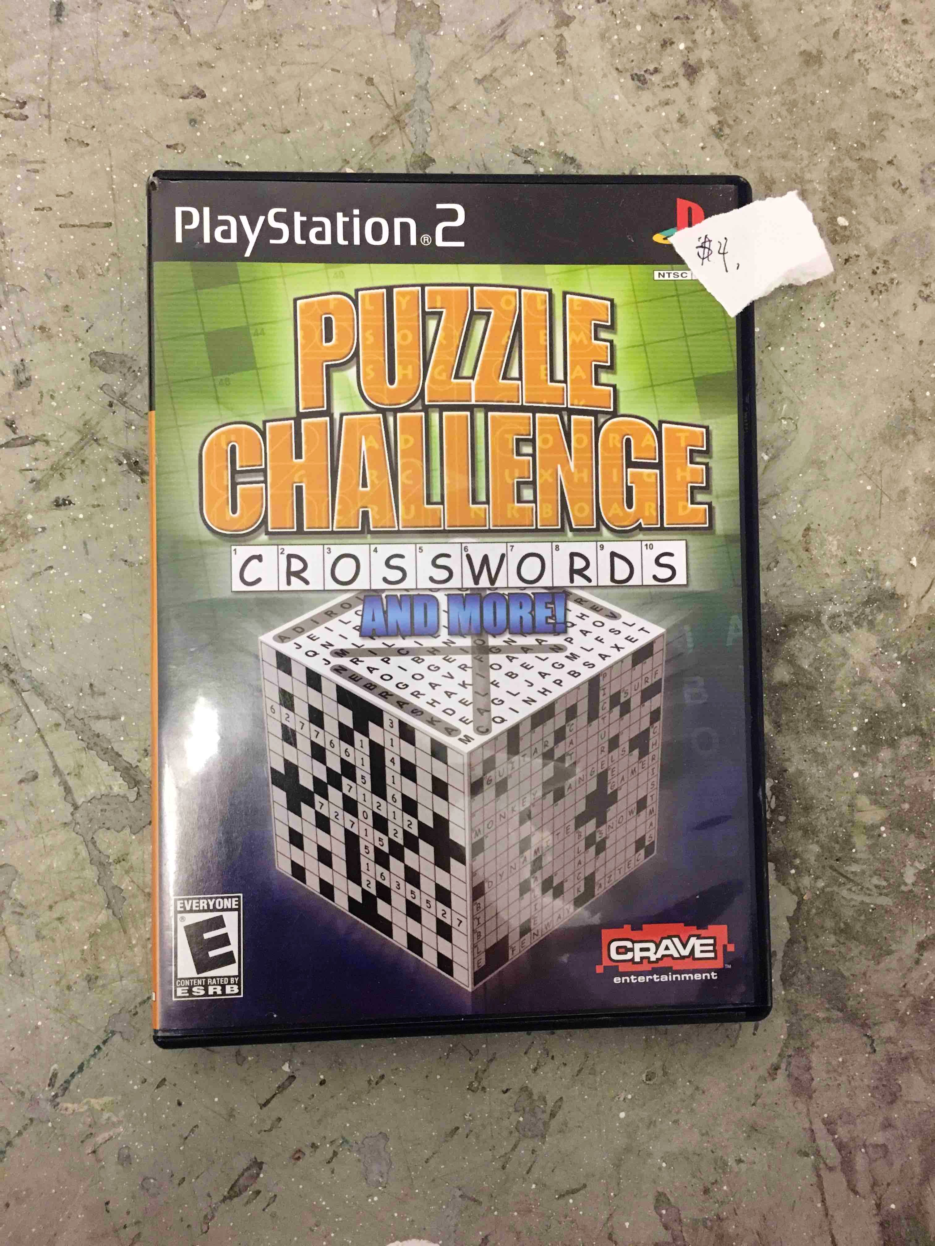 Puzzle Challenge PS2 game