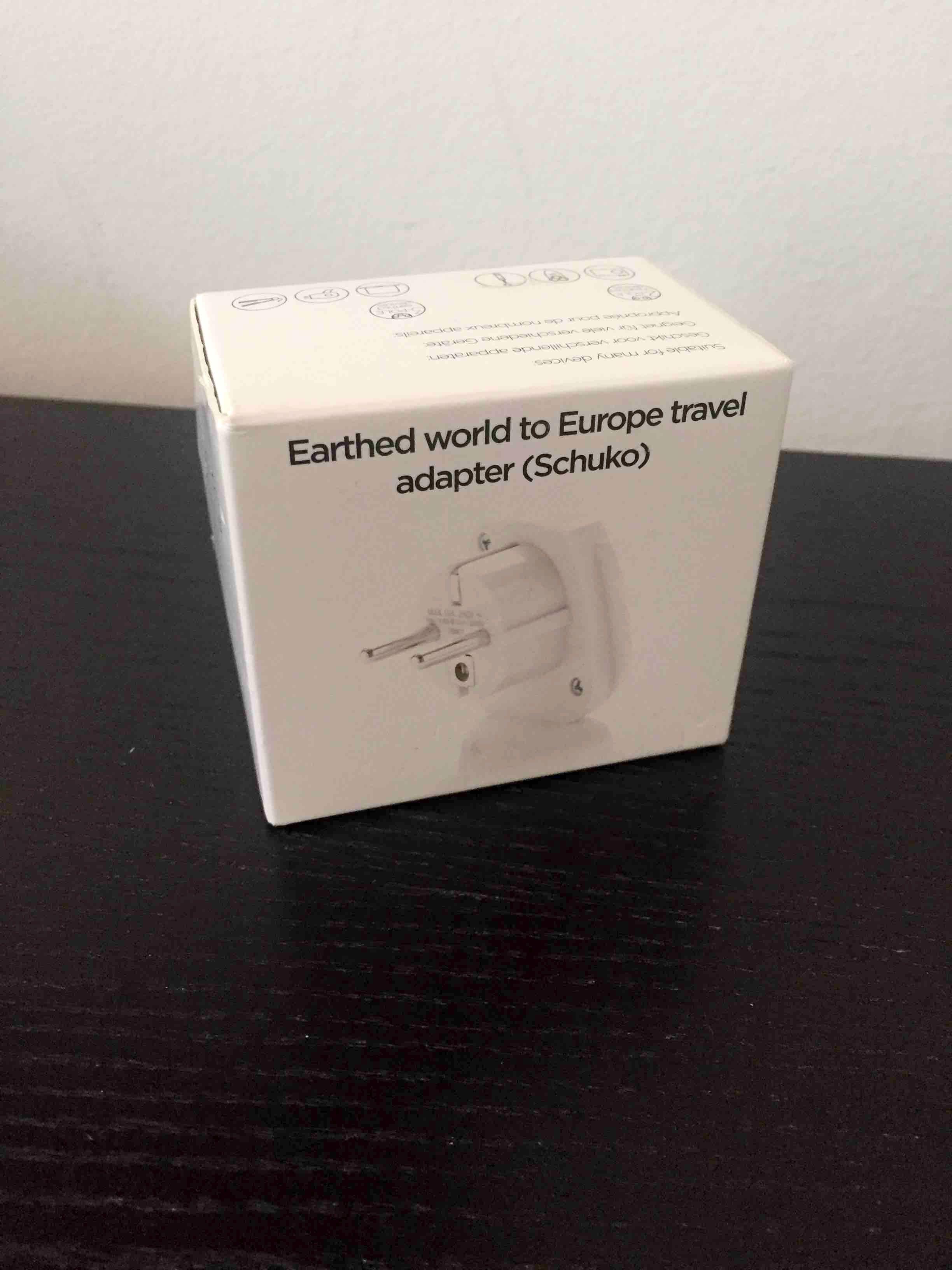 World to Europe adapter