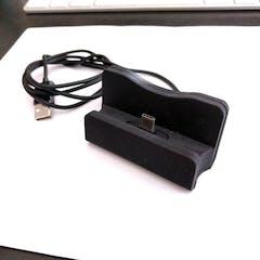 Black USB-C stand