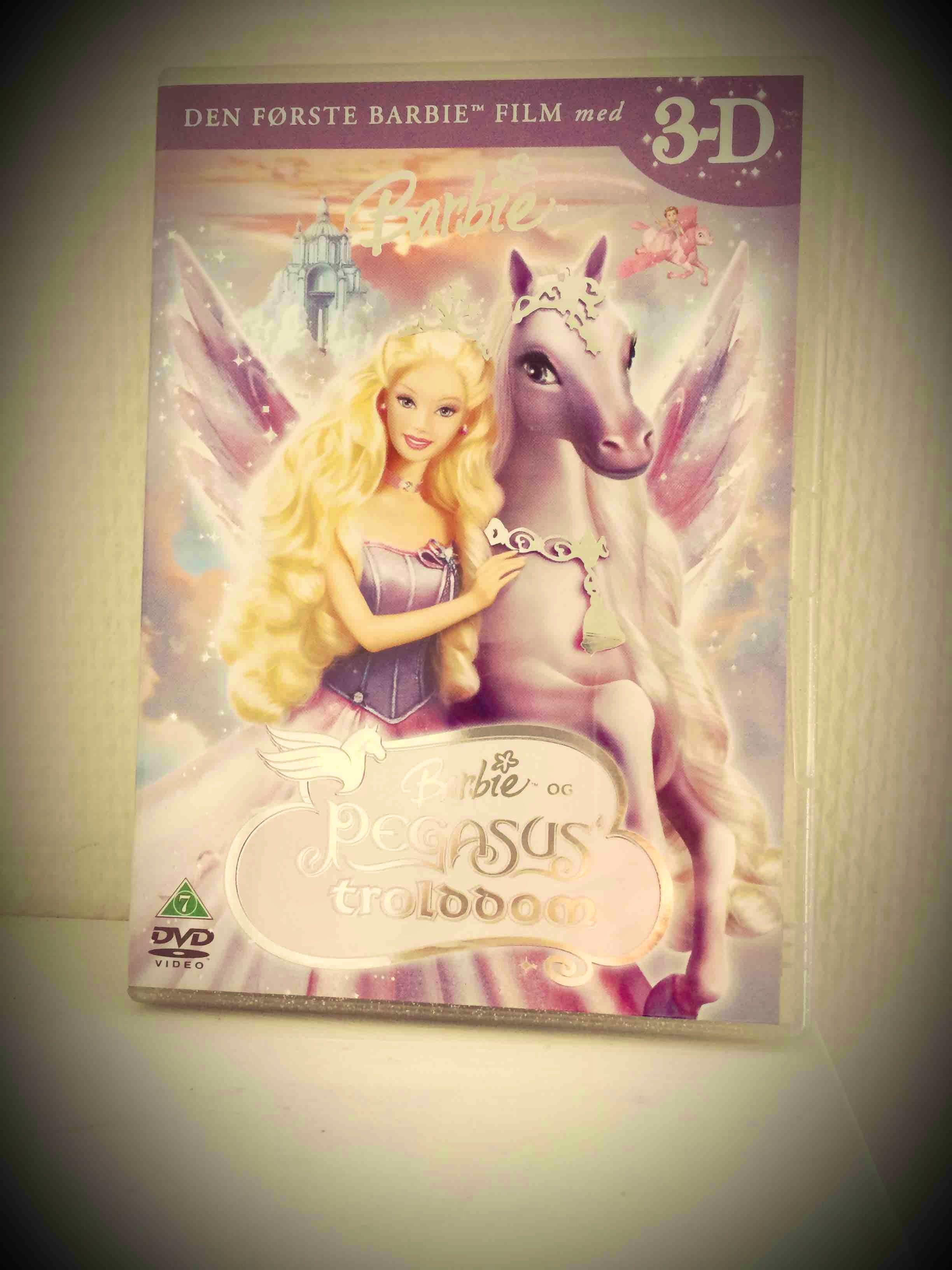 Dvd: Barbie og Pegasus trolddom 3D