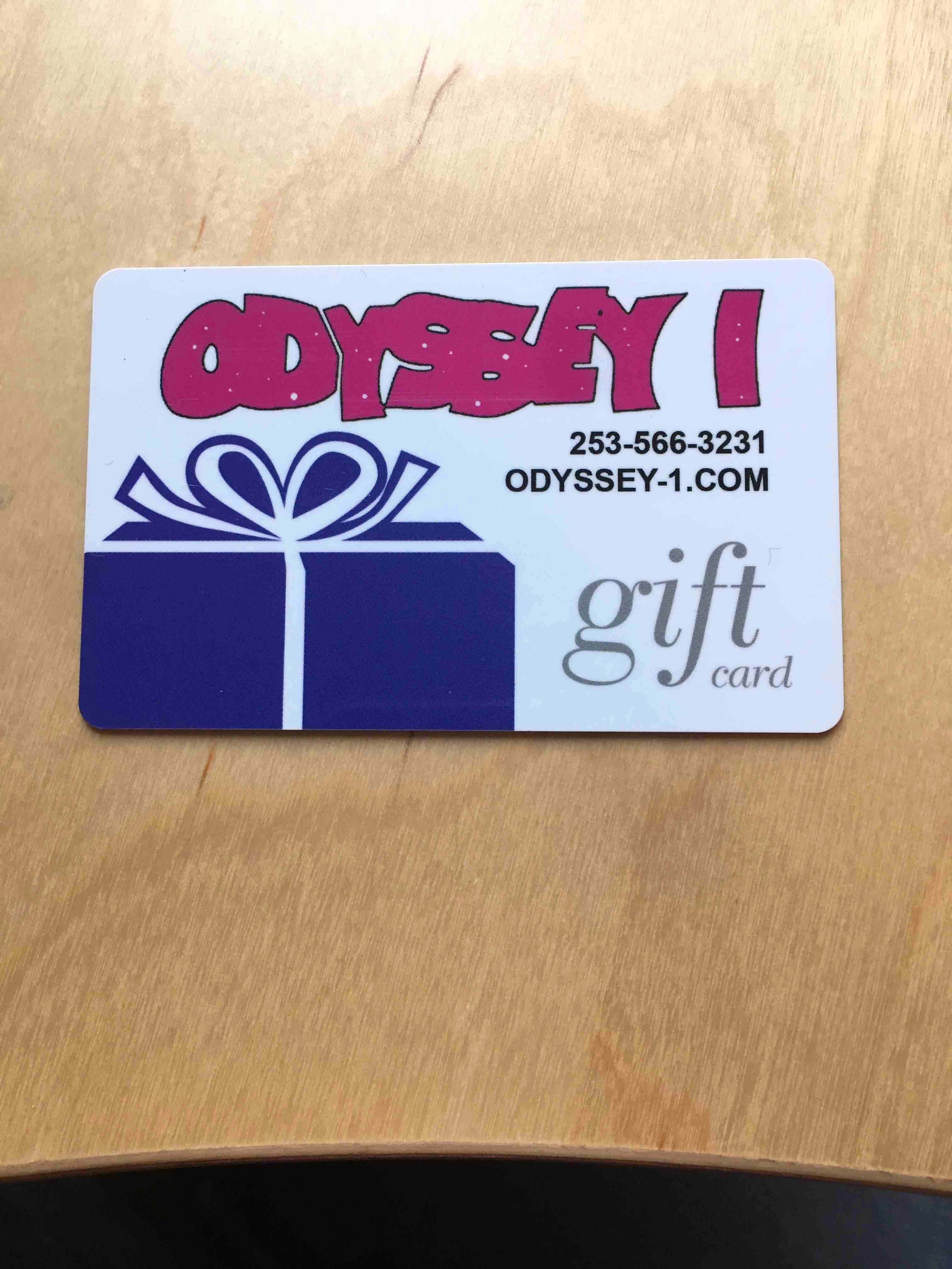 Odyssey 1 Gift Card